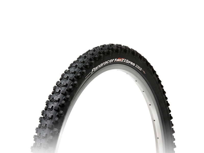 "Panaracer Fire Pro Tubeless Compatible Folding Black 27.5x2.35"" click to zoom image"