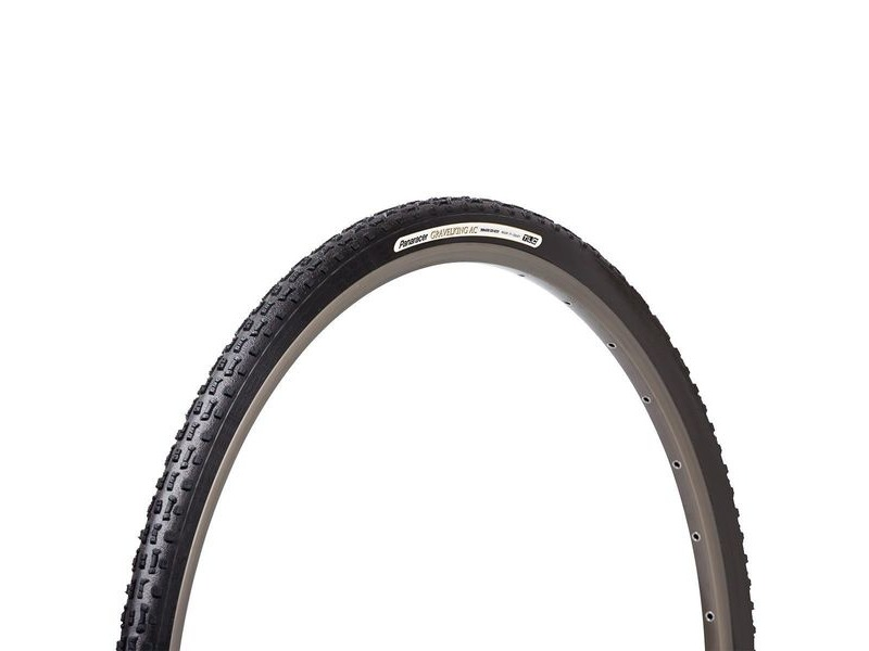 Panaracer Gravelking Ac Tlc Folding Tyre: Black/Black click to zoom image